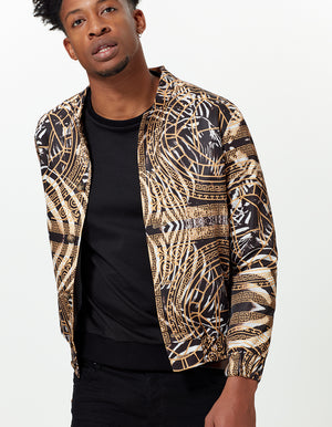 BOMBER JACKET HOUSE ZEBRA