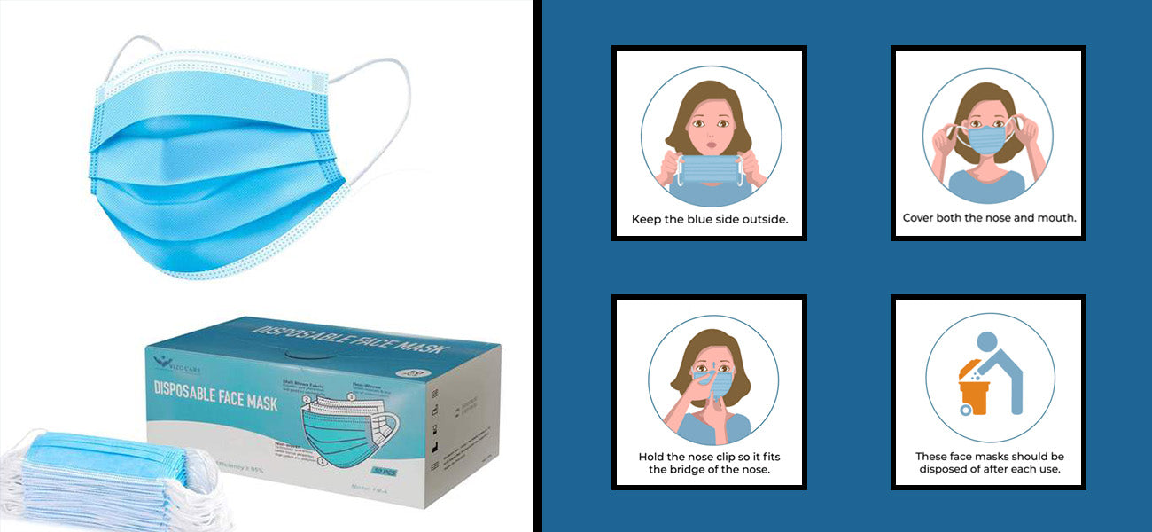 Buy disposable face masks