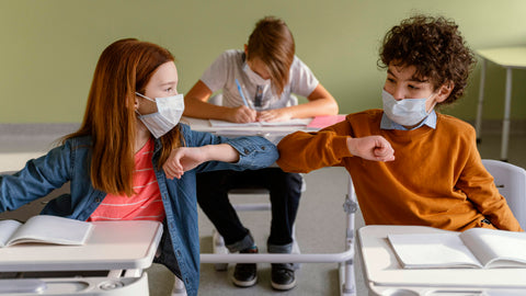 The use of PPE in schools: