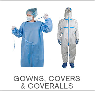 Gowns, Covers & Coveralls