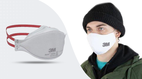 PARTICULATE RESPIRATOR / SURGICAL MASK