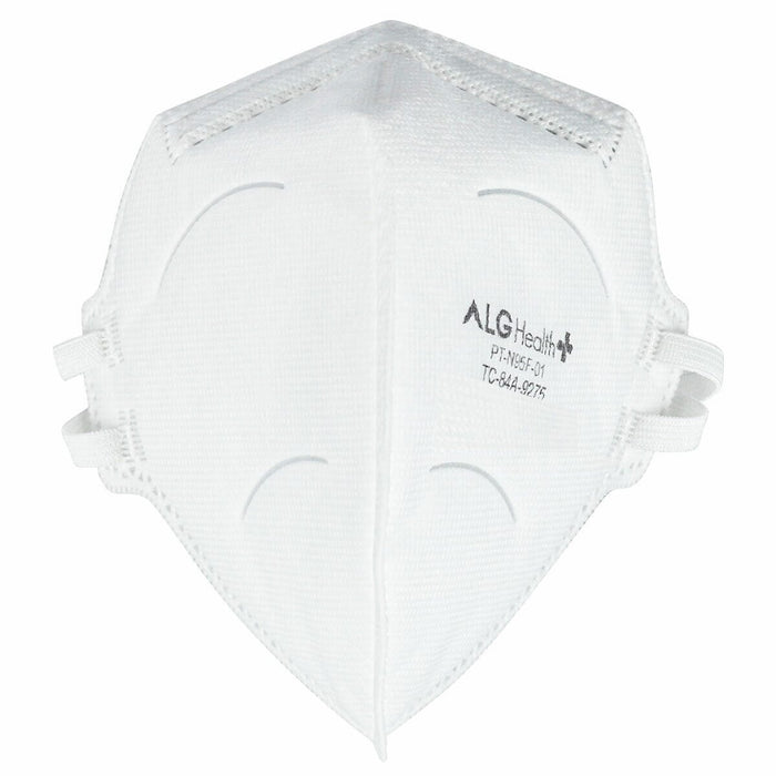 N95 NIOSH Mask - ALG PT-N95F-01 - Box of 40 (FM-2K) Face Masks Vizocom