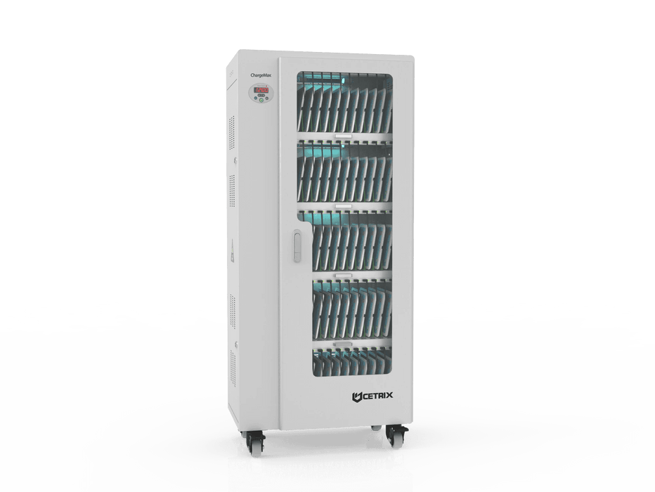 ChargeMax Disinfection Charging Cabinet - 60 bays, 5 Level (CT-60BU) UV Equipment Cetrix