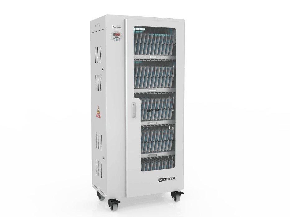 ChargeMax Disinfection Charging Cabinet - 65 bays, 5 Level (CT-65BU) UV Equipment Cetrix