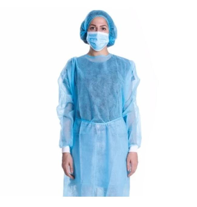 Disposable isolation gown, Level 1 - pack of 10 (DG-5)
