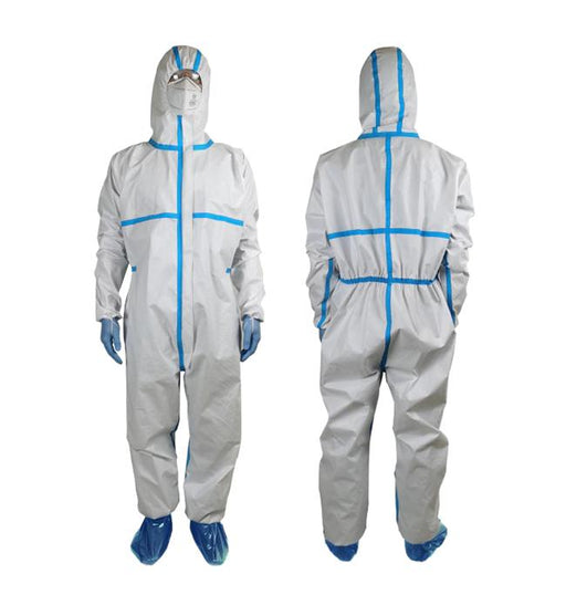 Disposable medical protective Coverall - pack of 10 (DG-6) Gowns & Coveralls Vizocom