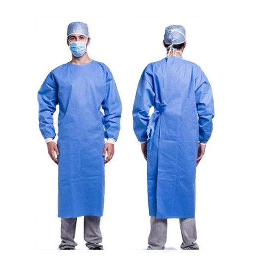 Disposable surgical gown, Level 2, Reinforced - pack of 10 (DG-7) Gowns & Coveralls Vizocom