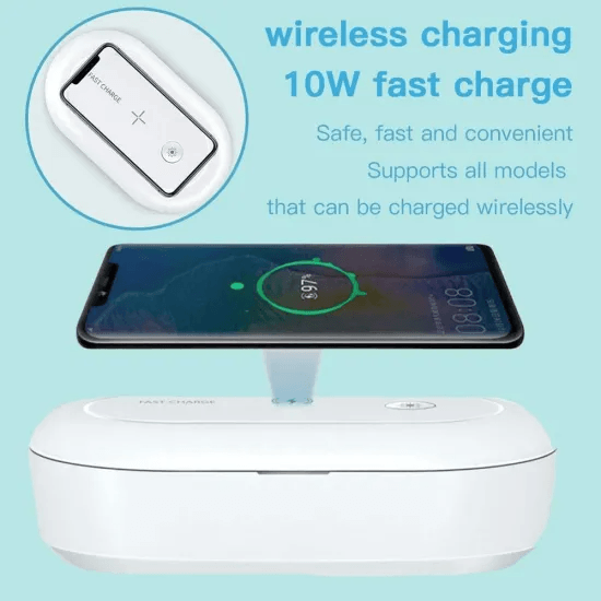 Portable Wireless Charger UV Equipment Toking