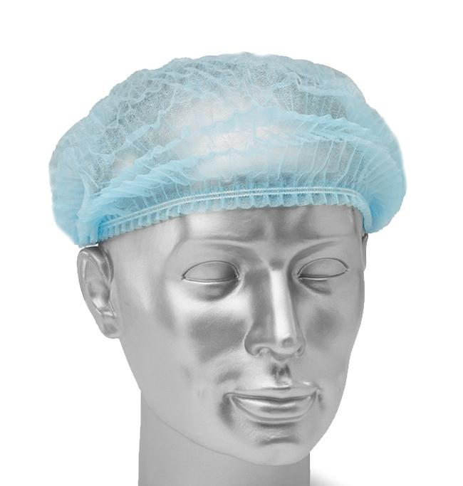 Head Cover (Bouffant Cap) - pack of 100 (HC-1) Gowns & Coveralls Vizocom