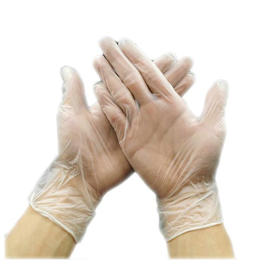 Disposable Vinyl Gloves - Box of 100 (MG-4) Medical Gloves Vizocom