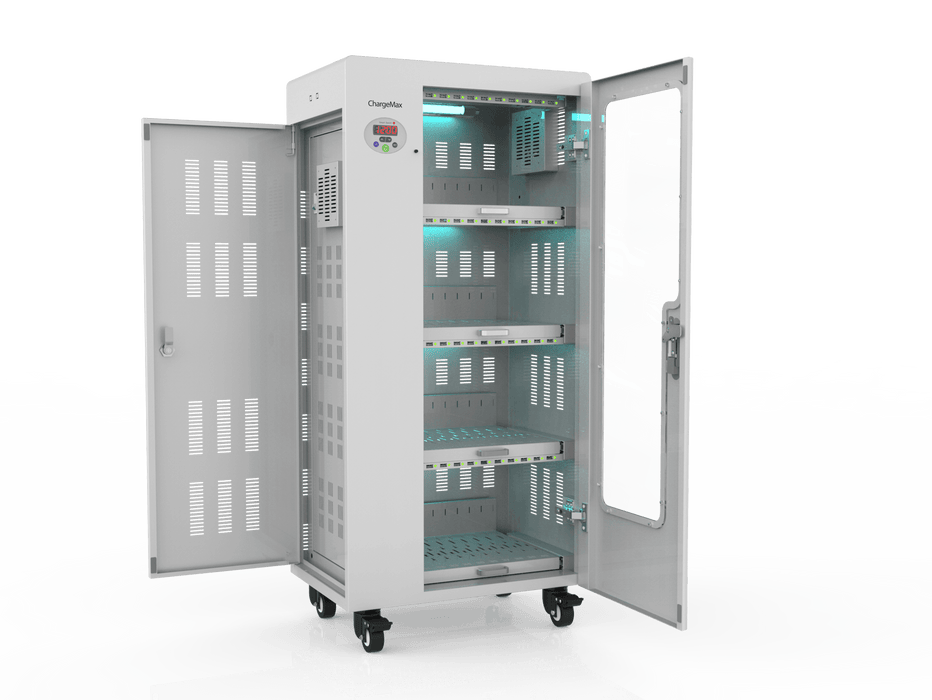 ChargeMax Disinfection Charging Cabinet - 40 bays, 4 Level (CT-40BU) UV Equipment Cetrix