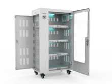 ChargeMax Disinfection Charging Cabinet - 52 bays, 4 Level (CT-52BU) UV Equipment Cetrix