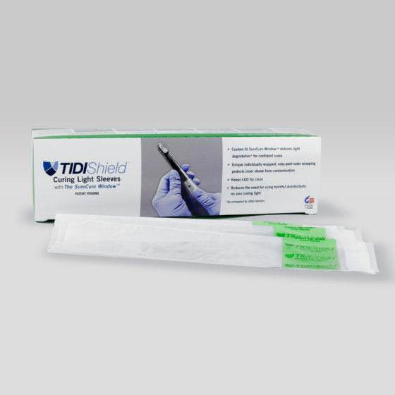 Curing Light Sleeves Medical and Dental Drapes and Covers Tidi