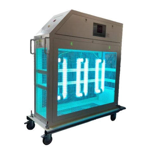 Cello Lighting Industrial Portable 1000W Surface & Air Sanitation Cart, UVCART1000 Air Purifier FSGUV