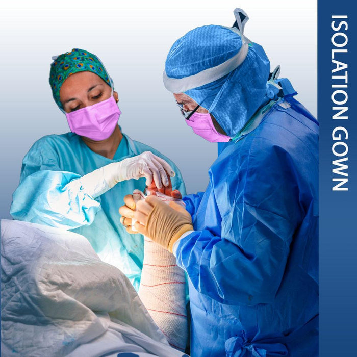 Disposable Surgical gown, Level 4 - pack of 10 (DG-10) Gowns & Coveralls Vizocom