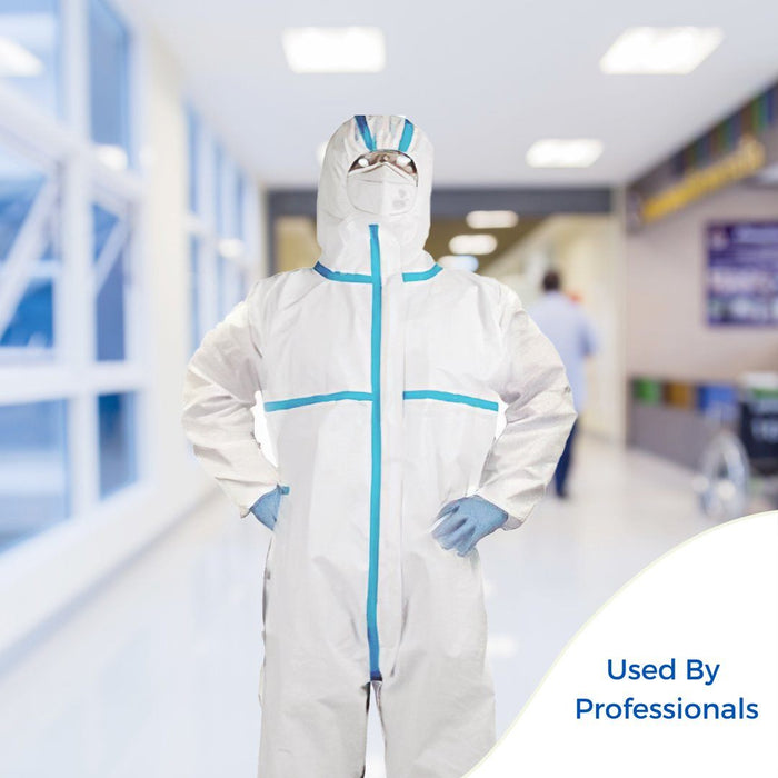 Disposable Protective Coverall - pack of 40 (DG-6) Gowns & Coveralls Vizocom