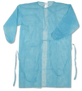 Disposable isolation gown, Level 1 (DG-5)