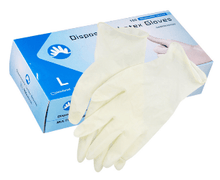 Disposable Latex Glove - Box of 100 (MG-3)