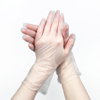 Disposable Vinyl Gloves - Box of 100 (MG-4)