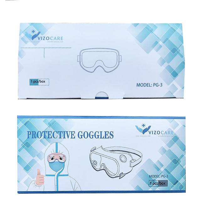 Safety Goggles (PG-3) Medical & Protective Googles Vizocom