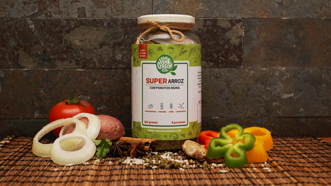 Super Rice with Mung, Vegetables & Spices (550g for 8 portions)