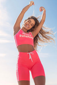 Sommer Ray - Pink Biker Shorts