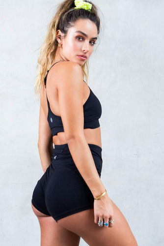 Butt Lift Shorts - Black