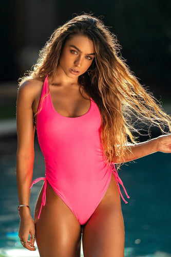 Sommer Ray - Pink Swimsuit