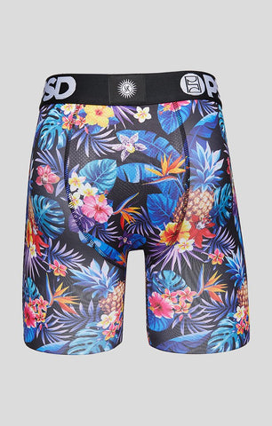 Blue Pineapple Men's Boxer Briefs - PSD Underwear