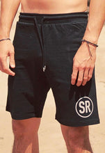 Men's SR Logo Sweat Shorts - Black