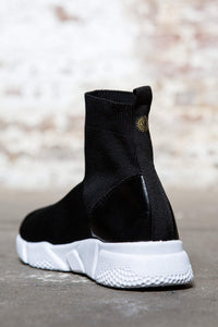 High Top Knit Sock Sneakers