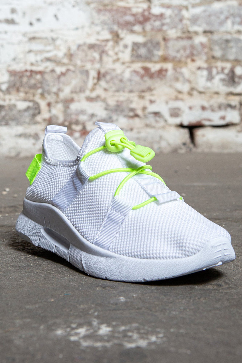 Pull Cord Knit Sneakers White Sommer Ray S Shop