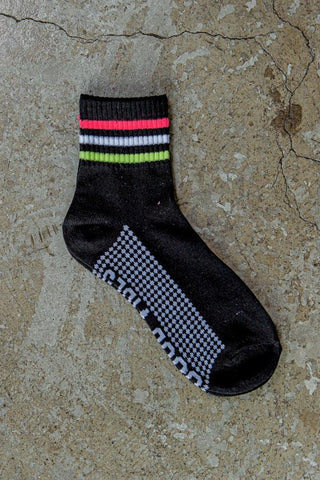3-Pack Quarter Socks - Pink
