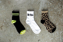 3-Pack Quarter Socks - Cheetah