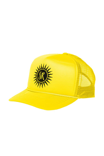 Sommer Ray Trucker Hat - Yellow