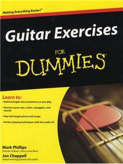 Mark Phillips and Jon Chappell: Guitar Exercises for Dummies