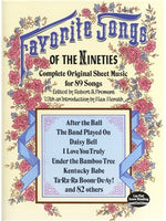 Favourite Songs Of The 1890s