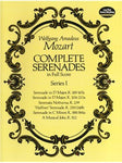 W.A. Mozart: Complete Serenades In Full Partitura - Series I