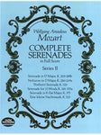 W.A. Mozart: Complete Serenades In Full Partitura - Series II
