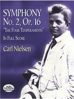 "Carl Nielsen: Symphony No.2 Op.16 ""The Four Temperaments"" - Full Partitura"