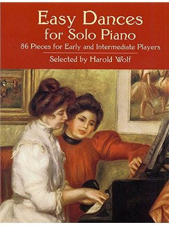 Easy Dances For Piano Solo