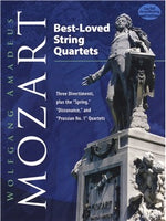 "W.A. Mozart: Best Loved String Quartets - Three Divertimenti, Plus The ""Spring,"" ""Dissonance"" And ""Prussian No.1"" Quartets"
