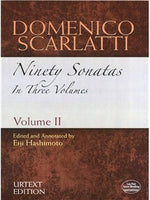 Domenico Scarlatti: Ninety Sonatas In Three Volumes - Volume II