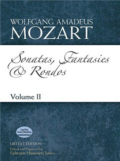 Mozart: Sonatas, Fantasies And Rondos Urtext Edition - Volume II