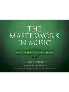 The Masterwork In Music: Volume III - 1930