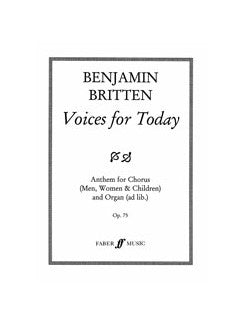 Voces For Today. Satb Accompanied