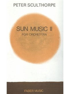 Sun Music Ii For Orchestra (Partitura)