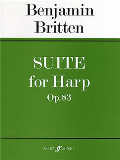 Benjamin Britten: Suite For Harp Op. 83
