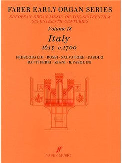 Early Organ Series 18 Italy 1615-1700
