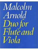 Malcolm Arnold: Duo For Flute And Viola Op.10